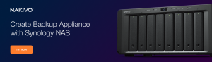 Integrated Backup Appliance with Synology NAS