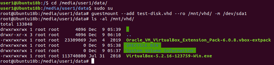 Check the virtual disk content before you convert VHD to VMDK