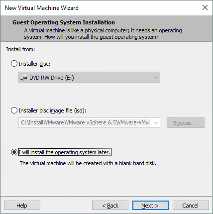 How to import VHD to VMware after conversion