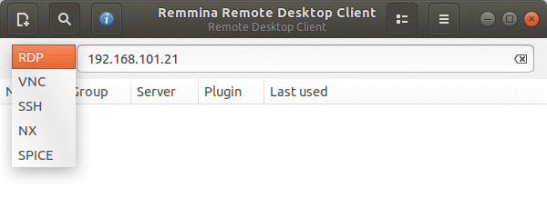 Remote desktop Linux to Windows connection with Remmina