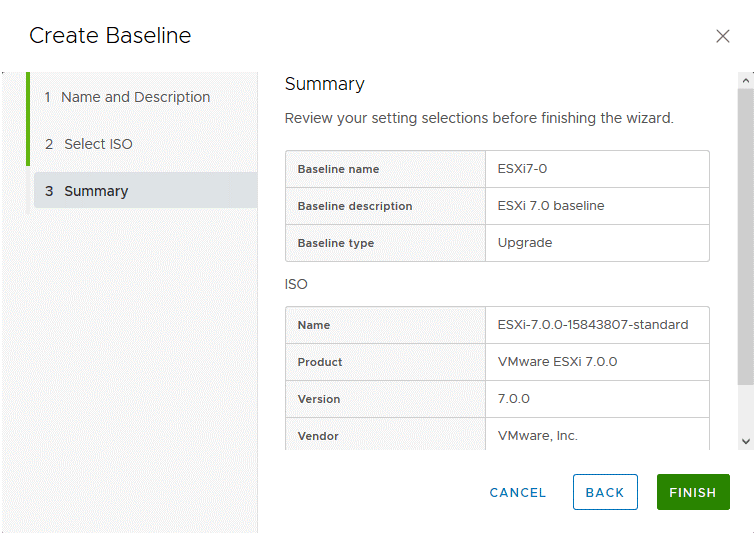 Checking-the-summary-for-a-new-baseline-creation