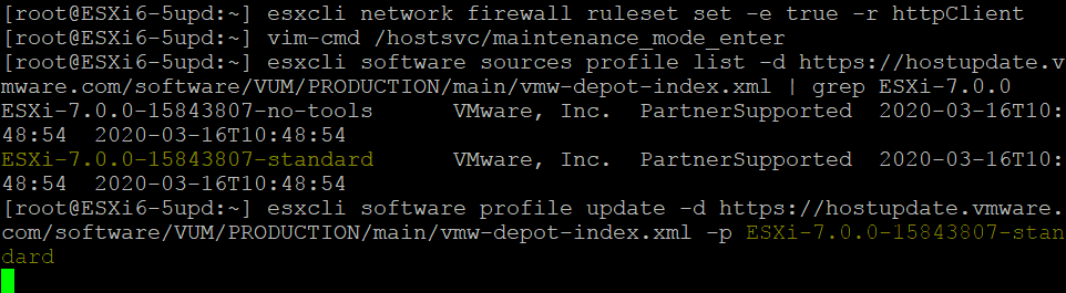 Configuring-the-firewall-selecting-the-profile-and-starting-the-ESXi-upgrade-process