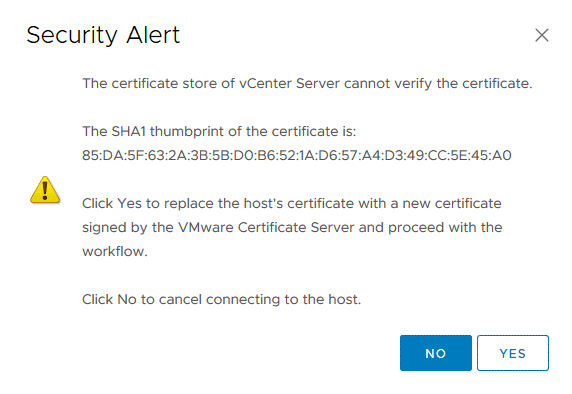 The-security-alert-is-displayed-when-connecting-to-an-ESXi-host