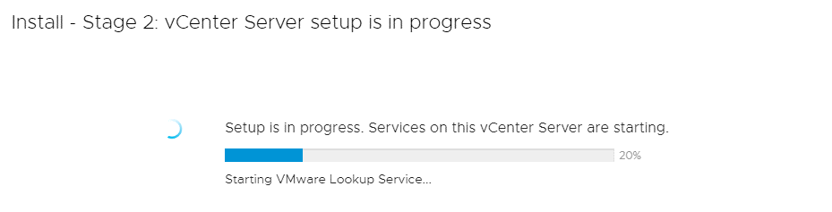 VMware-vCenter-7-setup-is-in-progress_services-on-this-vCenter-Server-are-starting