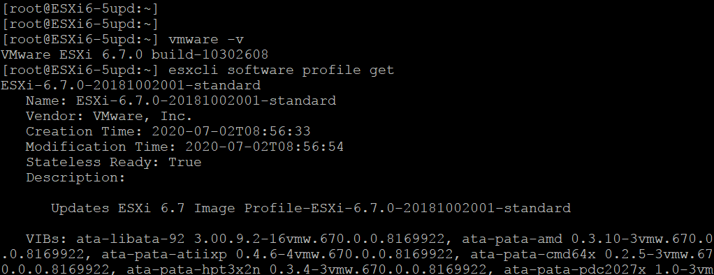 Viewing-the-current-ESXi-profile