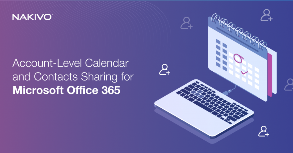 Account-Level Calendar and Contacts Sharing for Office 365
