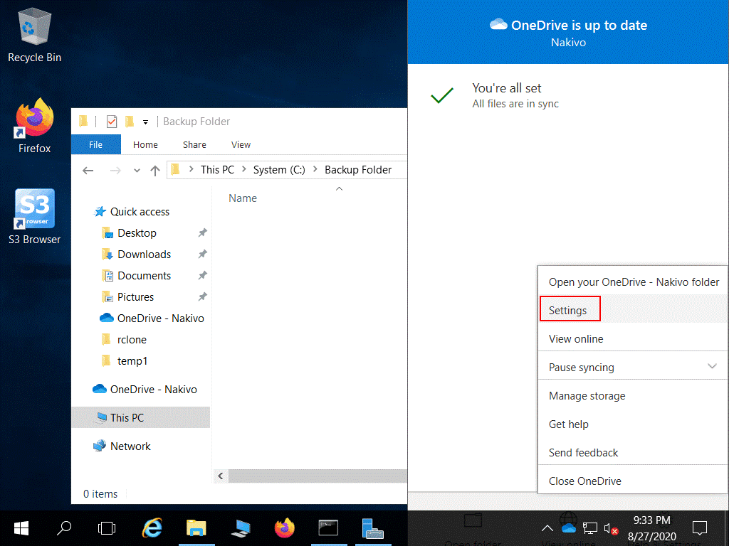 How-to-use-OneDrive-opening-settings