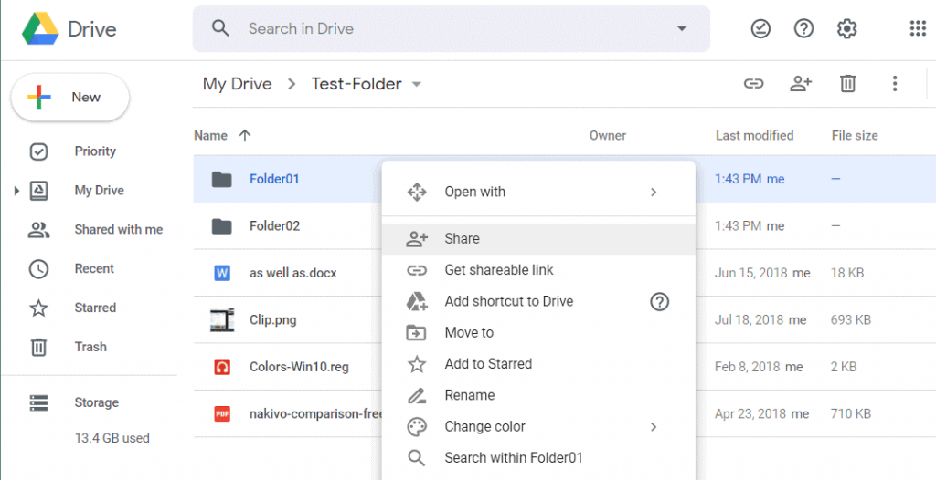 OneDrive-vs-Google-Drive-sharing-files-in-Google-Drive
