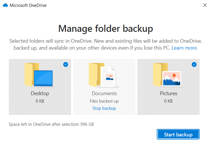 The-OneDrive-backup-folder-the-Documents-folder-is-backed-up