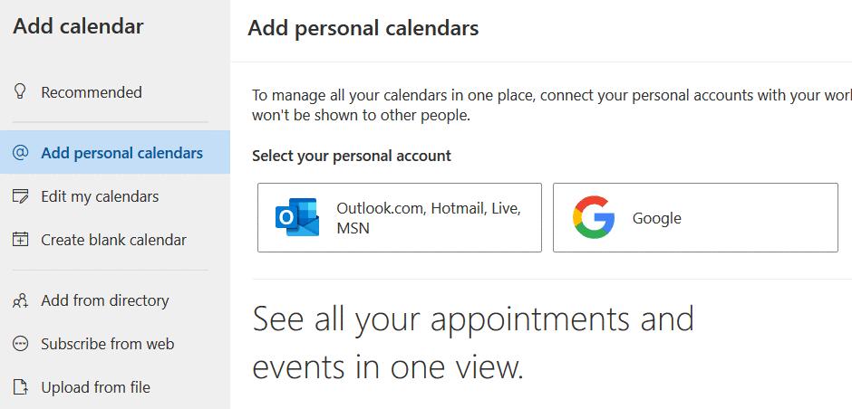Adding-a-personal-calendar-from-Google