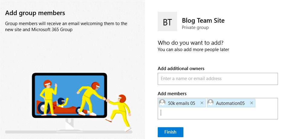 Adding-members-and-additional-owners-for-a-new-site-in-Microsoft-SharePoint-Online