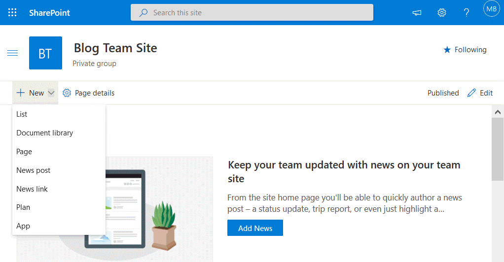 Adding-new-content-on-a-site-in-Microsoft-SharePoint-Online