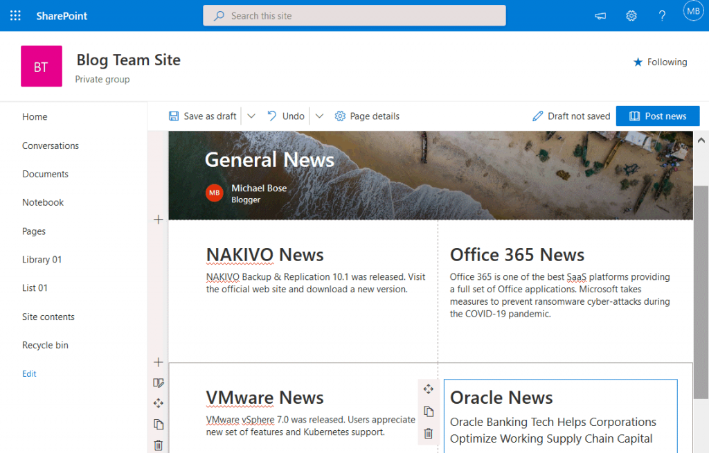 Creating-a-news-post-in-Microsoft-SharePoint-Online