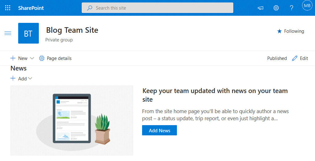 How-to-use-SharePoint-a-new-site-is-created