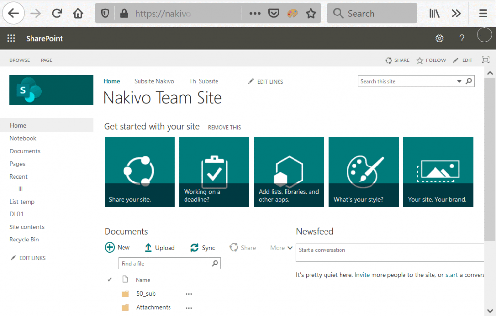 What-is-SharePoint-Online-viewing-a-team-site