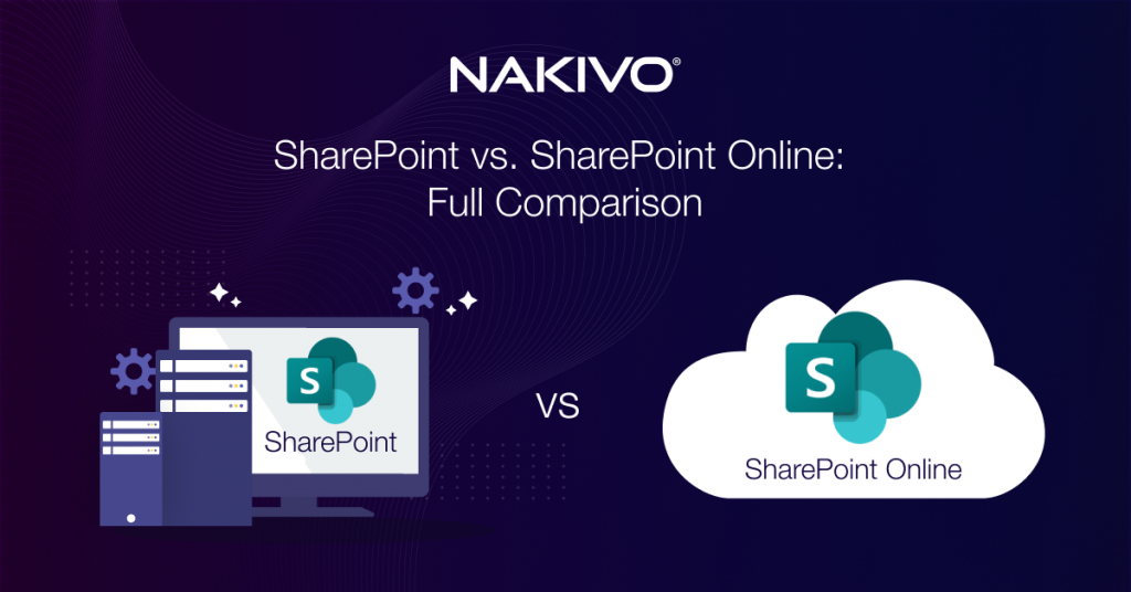 SharePoint vs. SharePoint Online: A Full Comparison