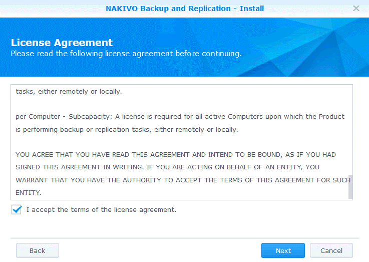 The End User License Agreement