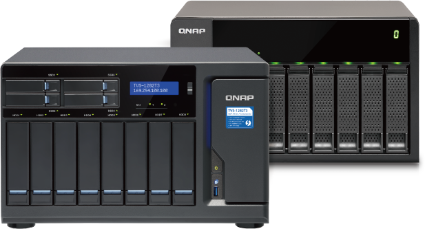 VM Backup Appliance Based on QNAP NAS