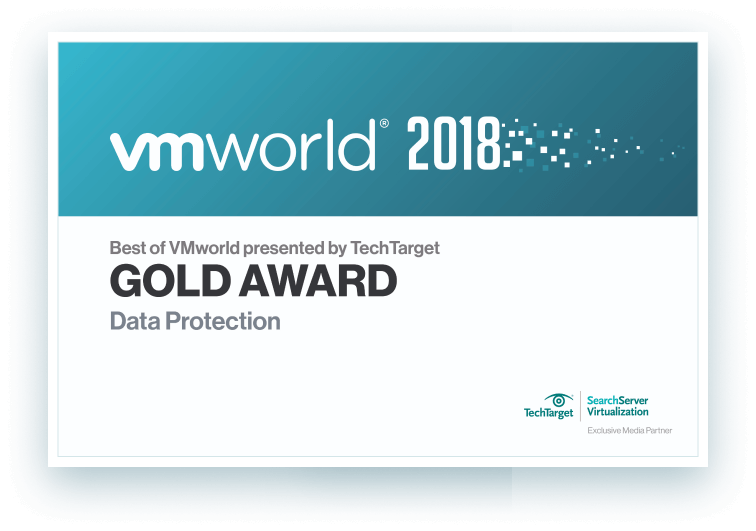 """Best of VMworld 2018"" Gold Award Winner"