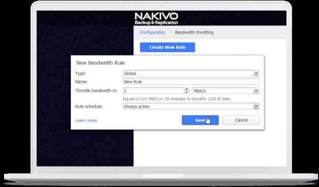 Windows Server Backup with NAKIVO Backup & Replication