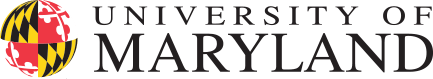 Logo: university of maryland