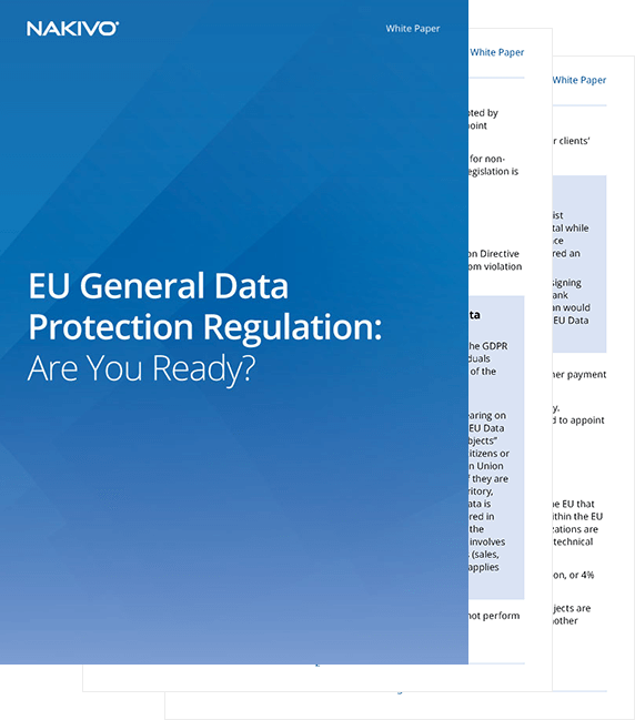 General Data Protection Regulation - White Paper