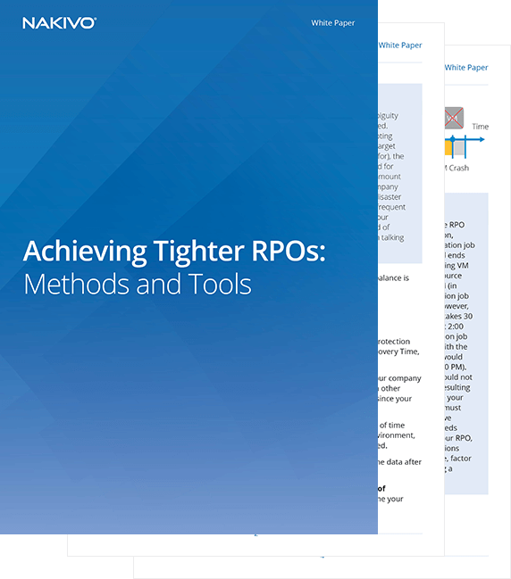 Achieving Tighter RPOs
