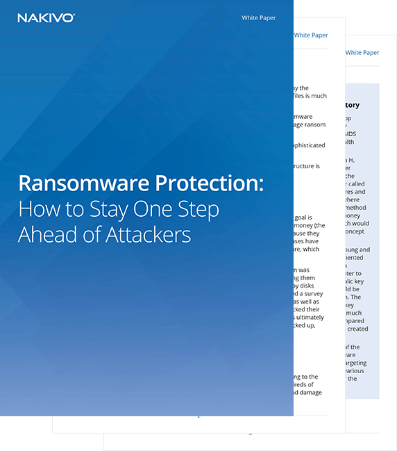 White Paper Ransomware Protection