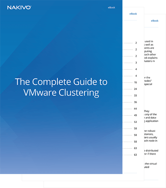 Ensure Better Performance With VMware Сlustering